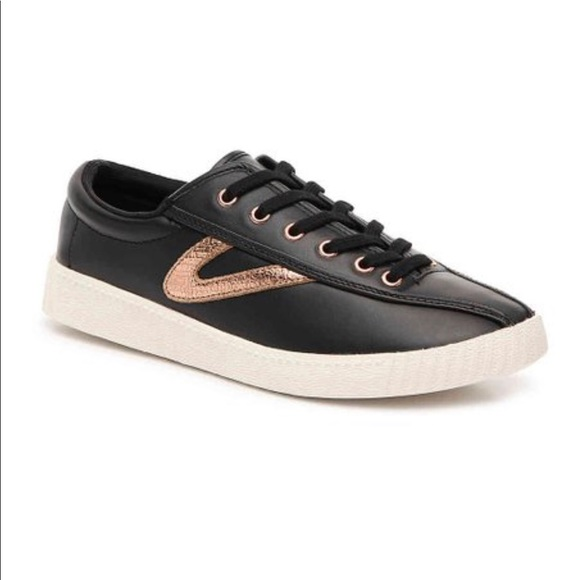 Rose Gold Leather Sneakers   Poshmark